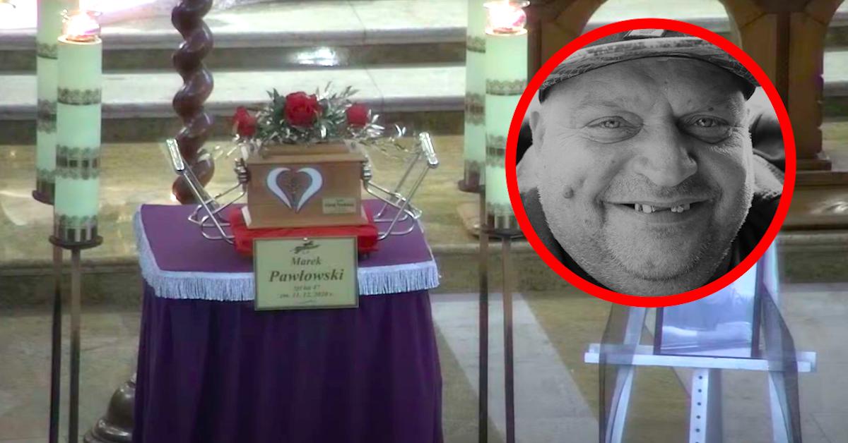 Pogrzeb Marka Pawłowskiego