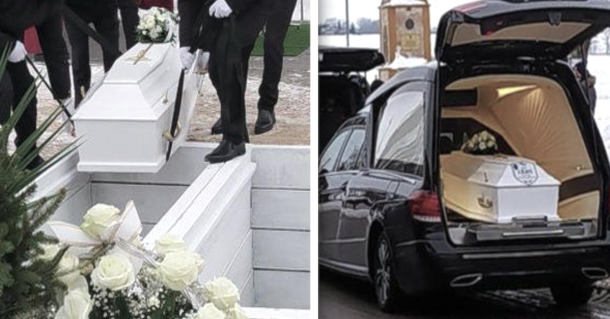 Poruszający pogrzeb rodzeństwa