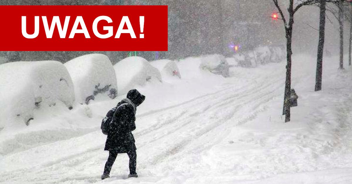 Śnieżny szkwał
