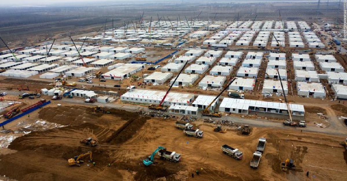 Tysiące izolatek w Chinach