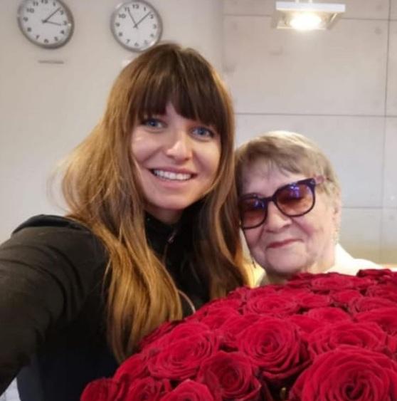 dzień Babci w rodzinie Lewandowskich