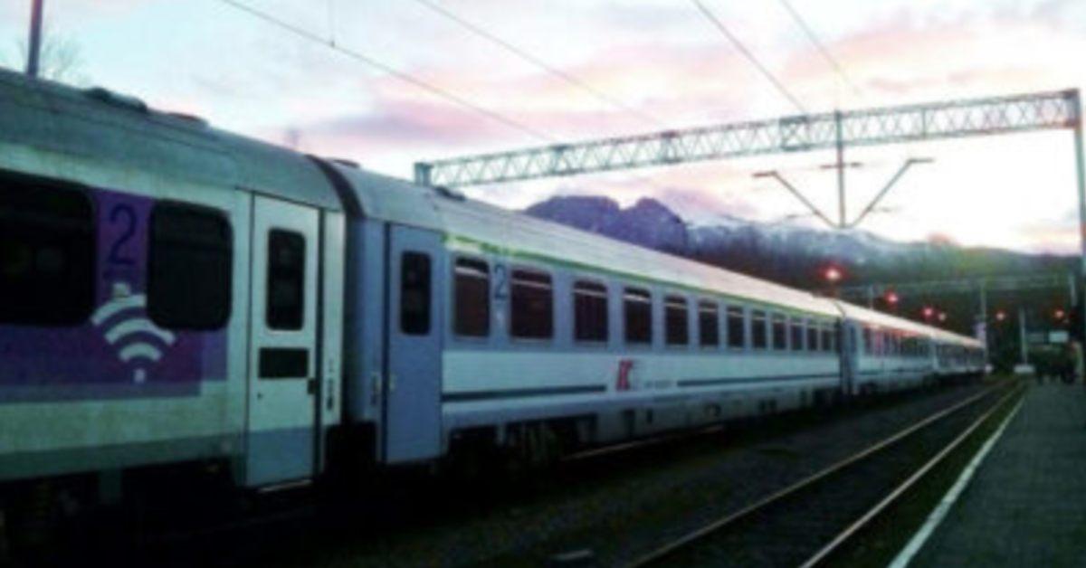kobieta z pociągu zobaczyła gwałt