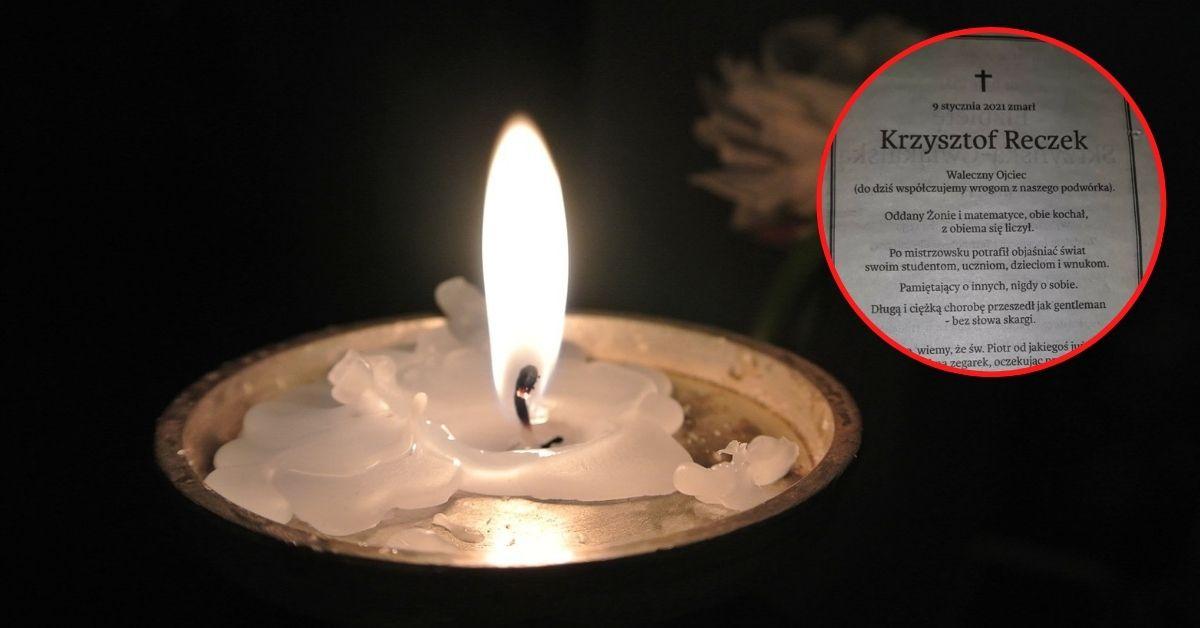 Zmarł matematyk z Krakowa