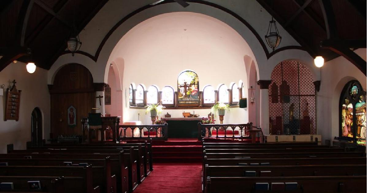 Fekalia w kościele