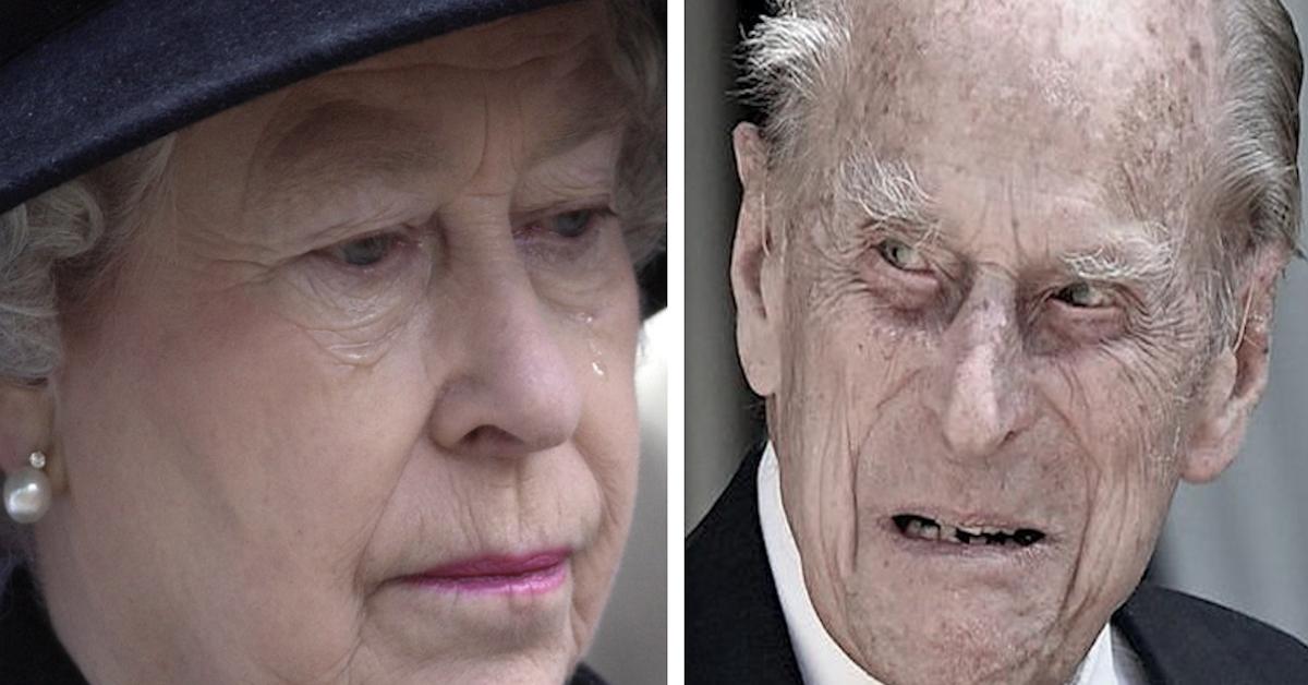 Królowa Elżbieta w rozpaczy