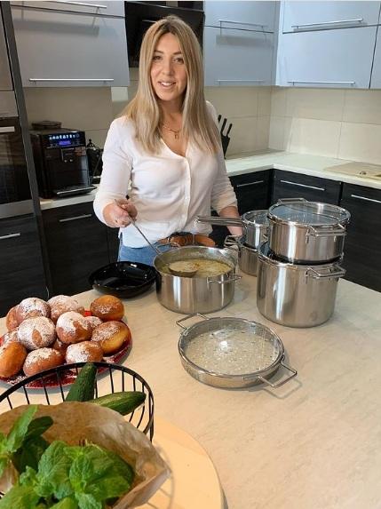 Małgosia Borysewicz pokazała kuchnię