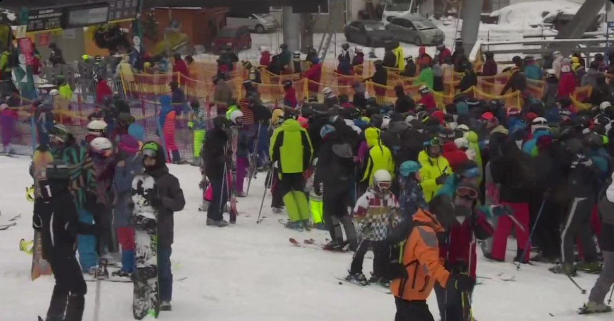Polacy ruszyli w góry