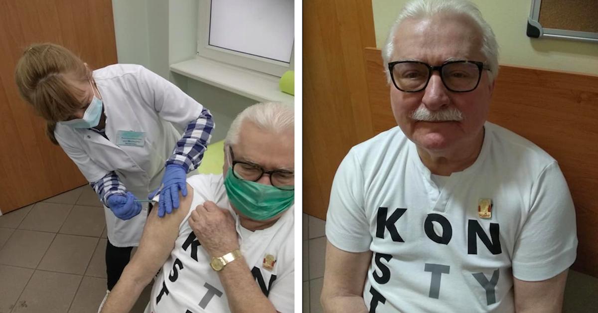 Samopoczucie Wałęsy po szczepieniu