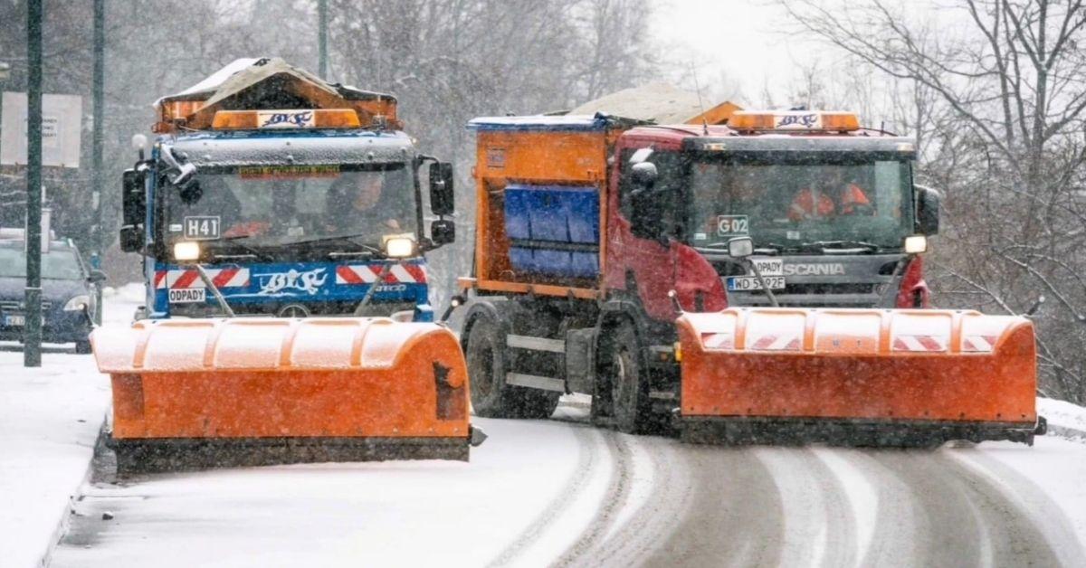 Atak zimy w Warszawie