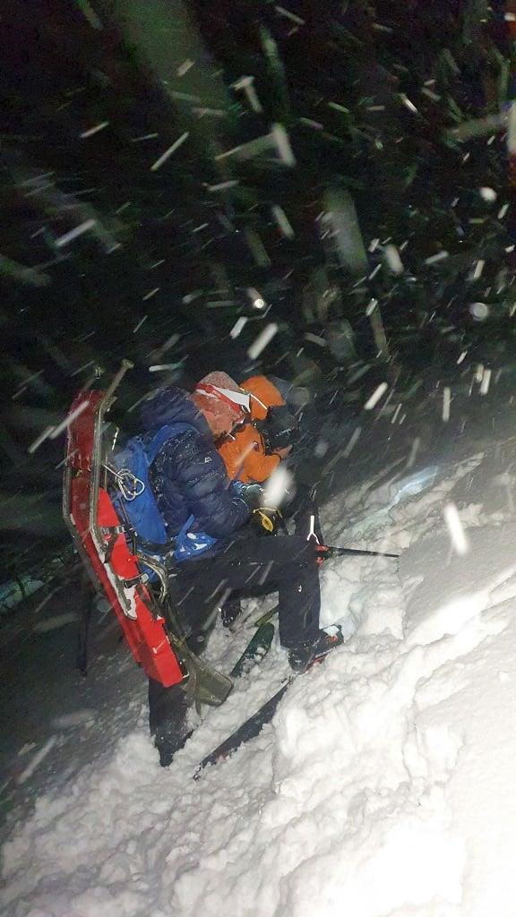 dwie ofiary lawiny w Tatrach