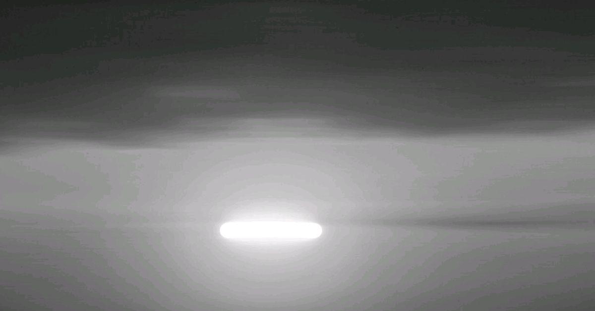 UFO zauważone przez pilota samolotu