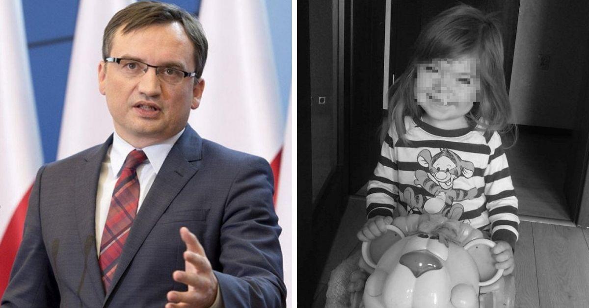 Ziobro o śmierci 3-latki z Kłodzka