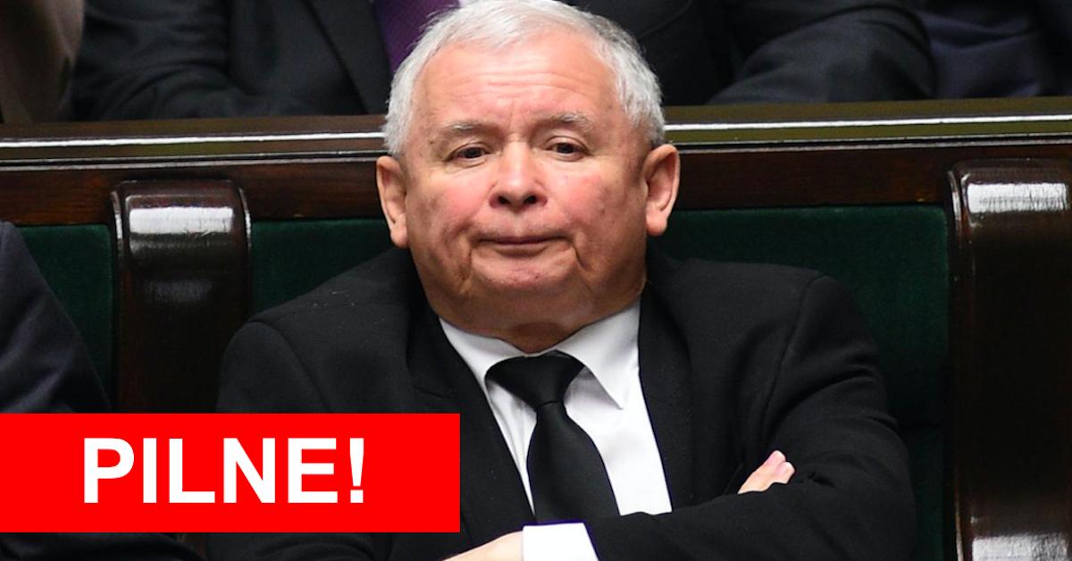 Jarosław Kaczyński zaszczepiony