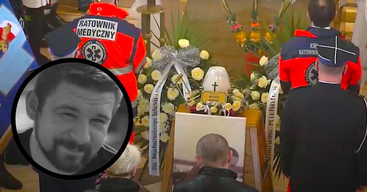 Pogrzeb ratownika medycznego