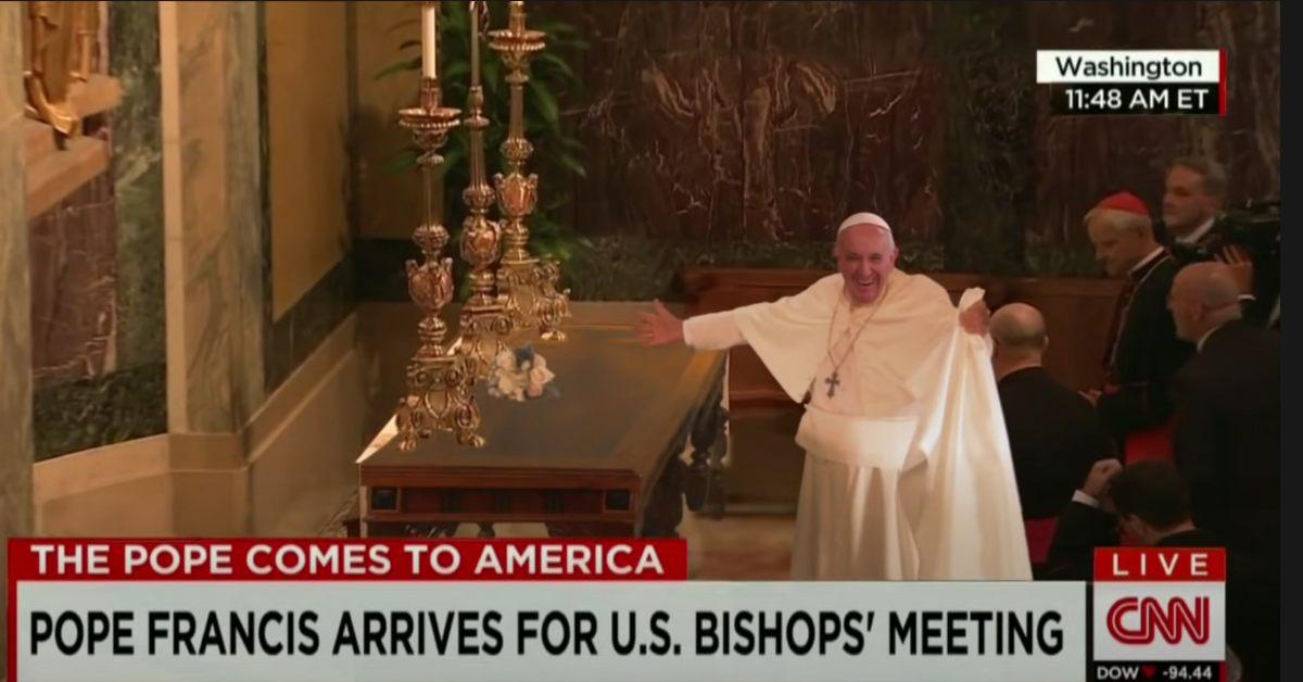 deepfake z papieżem podbija sieć