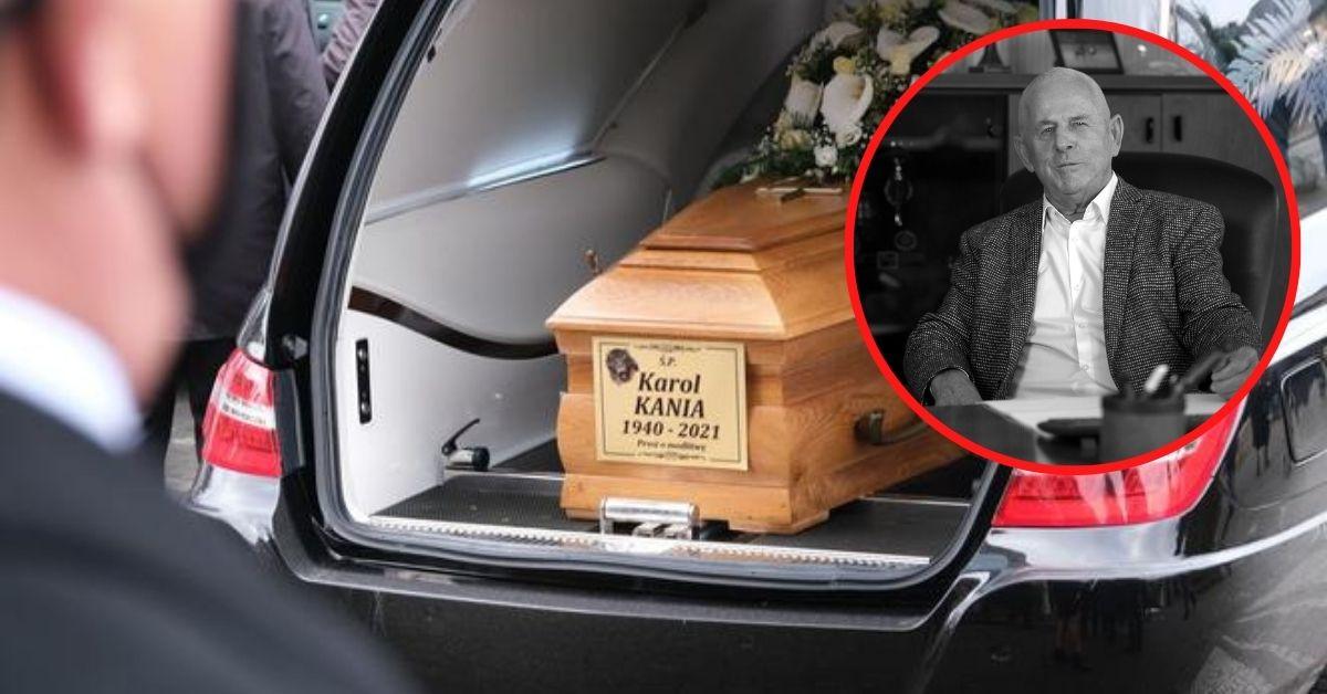 Pogrzeb Karola Kani
