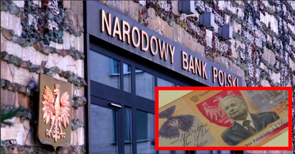 Banknot z podobizną Lecha Kaczyńskiego
