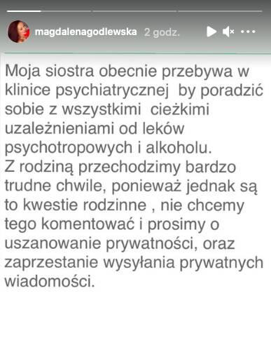 Godlewska w klinice psychiatrycznej