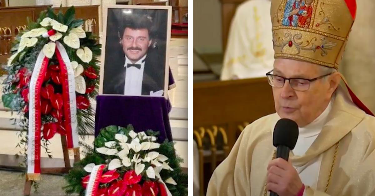 Kazanie na pogrzebie Krawczyka
