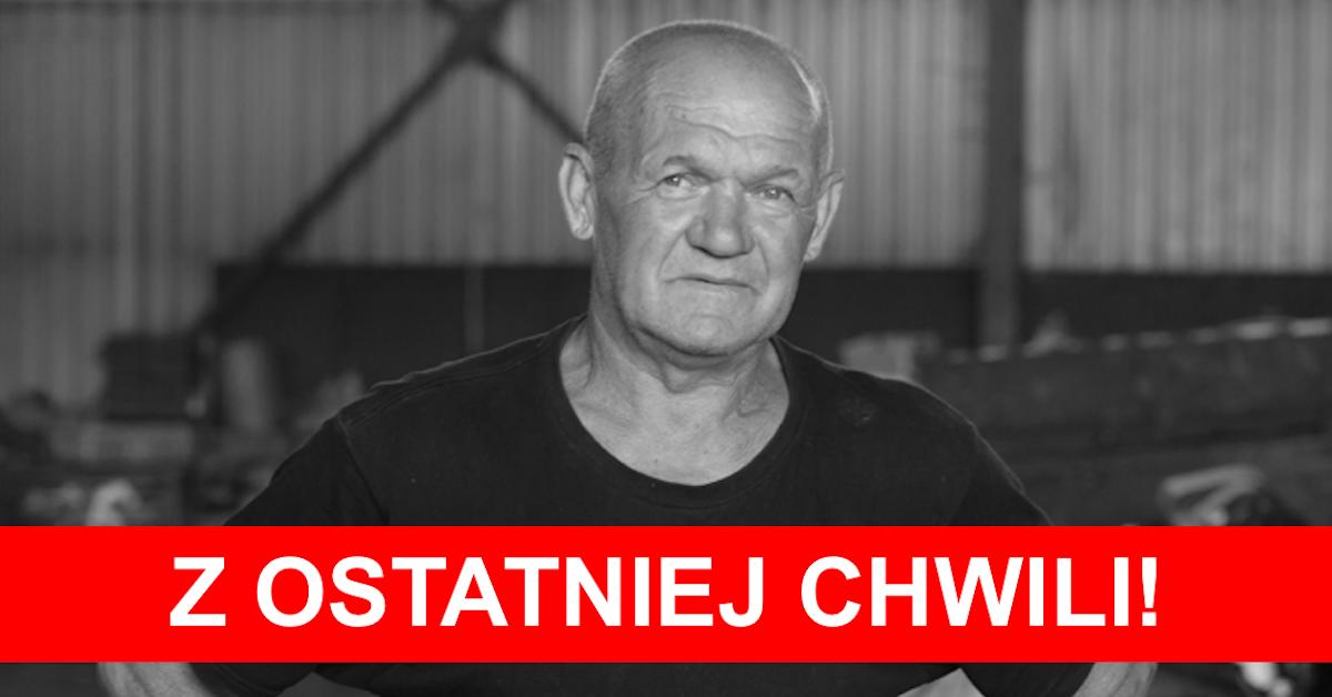 Kazik ze Złomowiska PL nie żyje