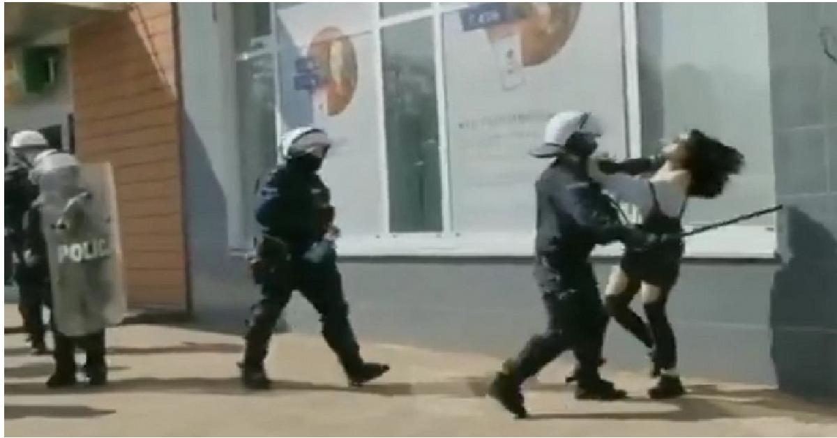 Protest w Głogowie