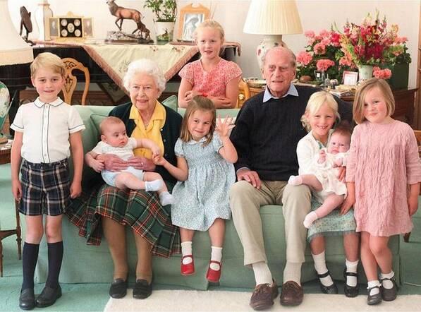Prywatne zdjęcie rodziny królewskiej