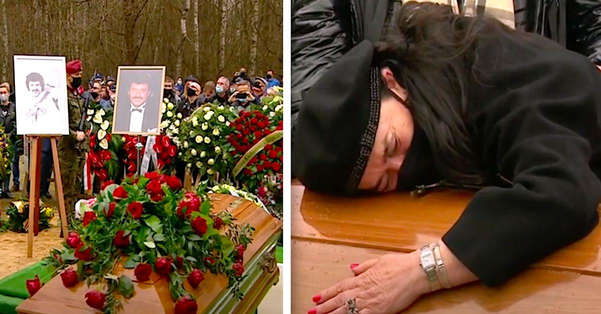 Skandal na pogrzebie Krzysztofa Krawczyka