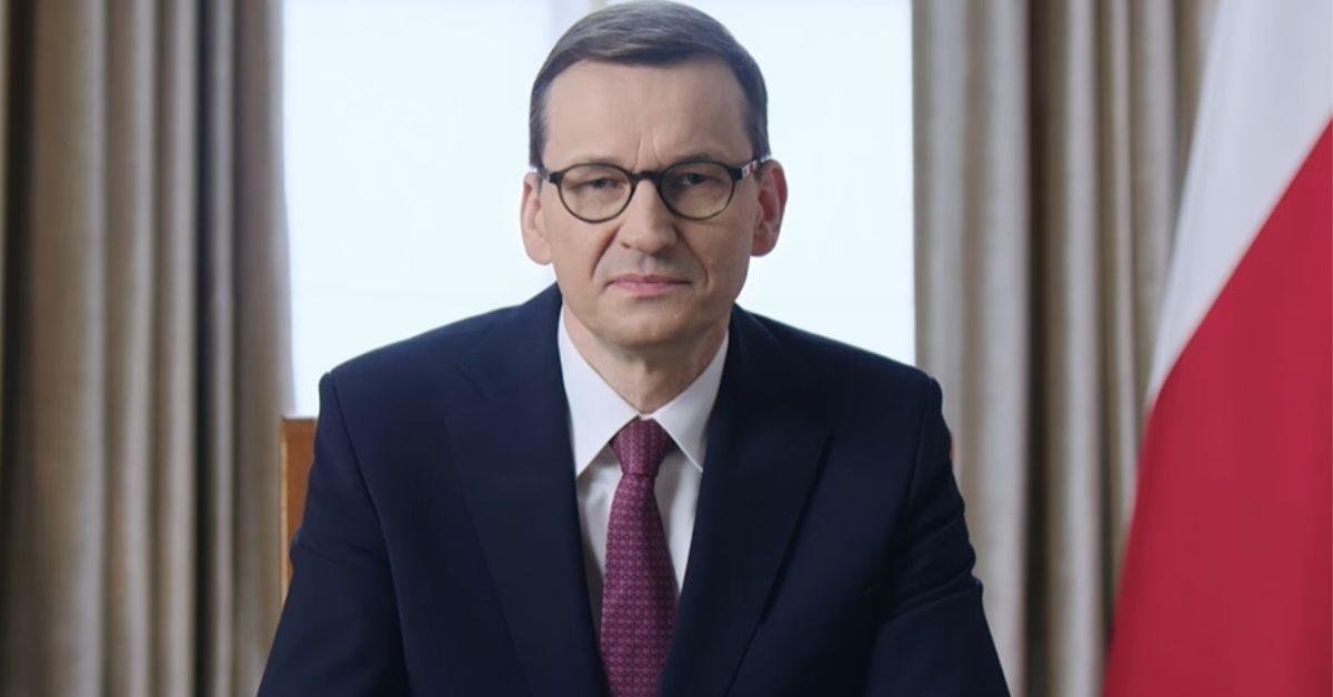 Mateusz Morawiecki przeprosił Polaków