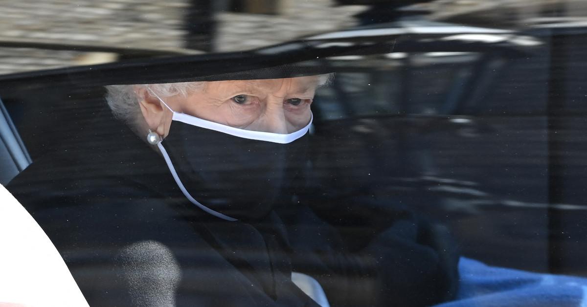 poruszające zdjęcie z pogrzebu księcia Filipa