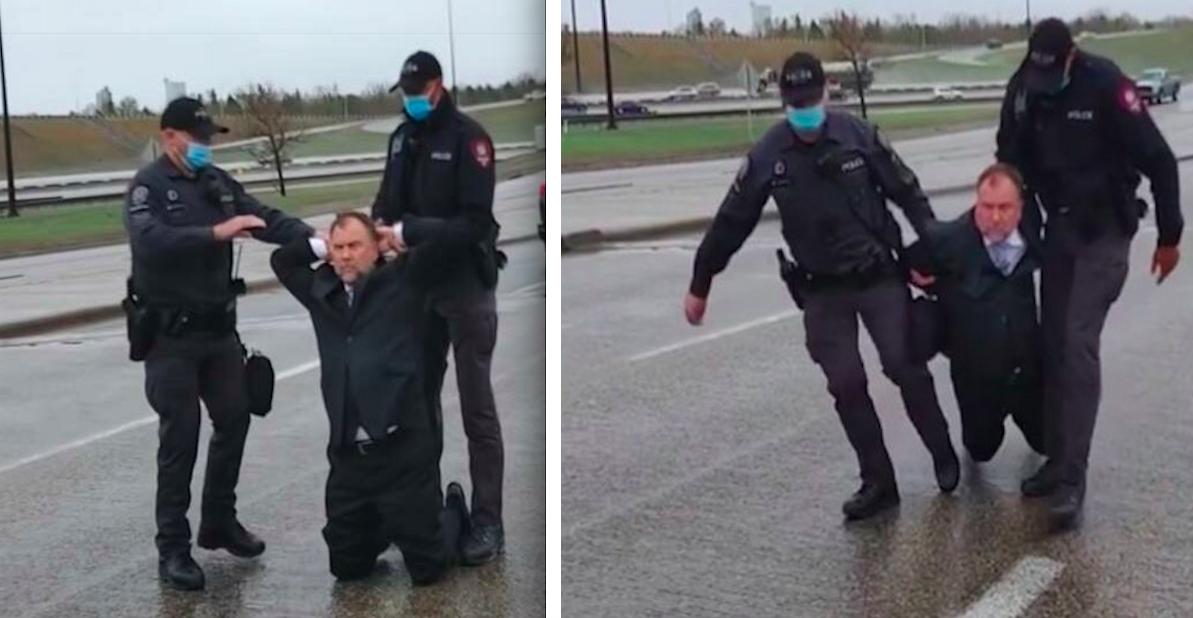 Polski duchowny aresztowany