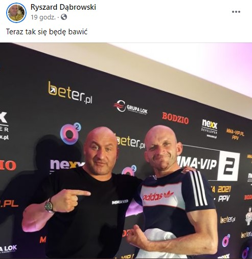 Szczena zawodnikiem MMA VIP