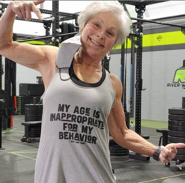 babcia została mistrzynią trójboju siłowego 3