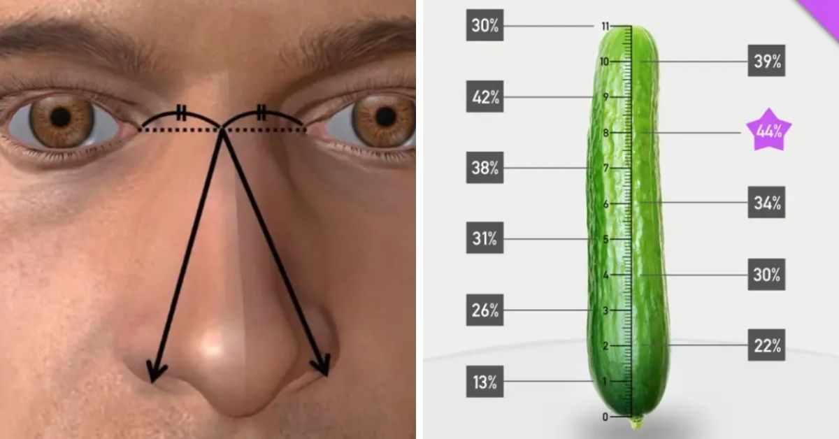 Długość penisa i nosa