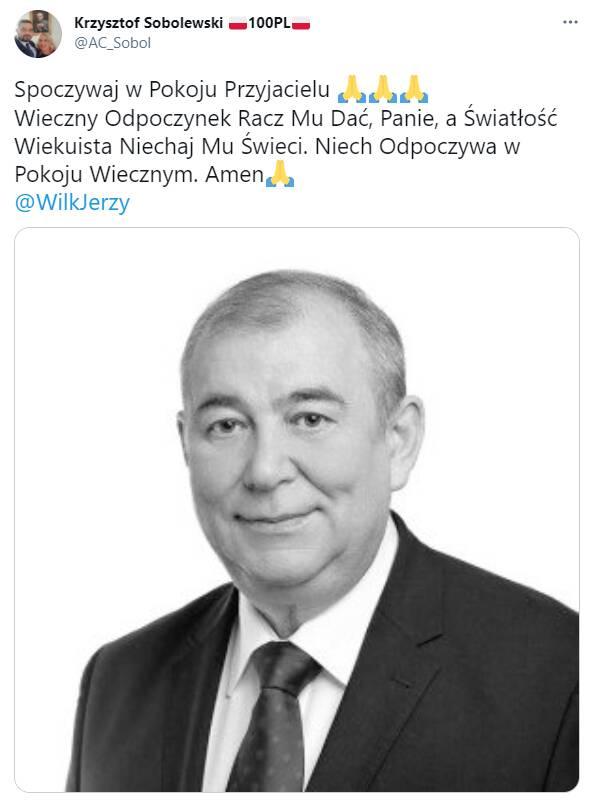 Nie żyje Jerzy Wilk