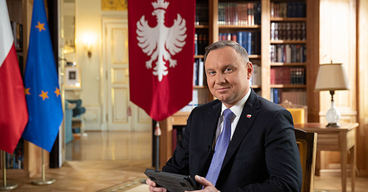 podwójna wpadka Andrzeja Dudy 2