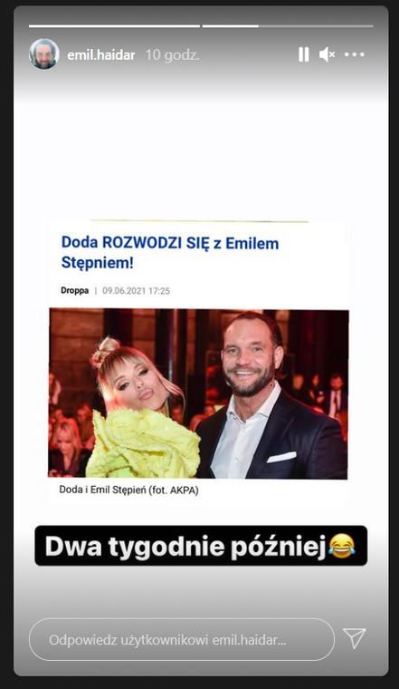 Doda rozwodzi się z Emilem Stępniem