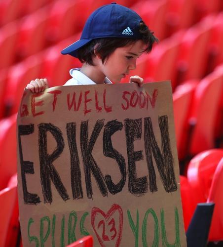 Lewandowski wspiera Christiana Eriksena