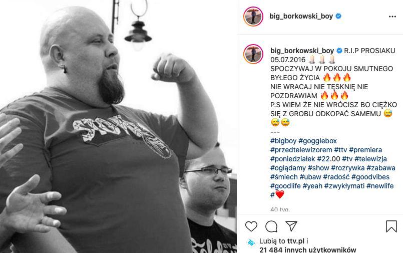 Mateusz Big Boy Borkowski