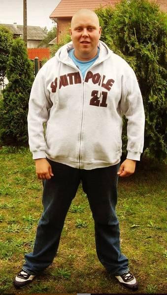 Big Boy zrzucił 170 kilogramów