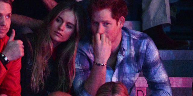 Harry spotkał się z byłą kochanką