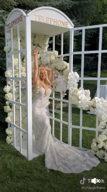 W bikini na ślub