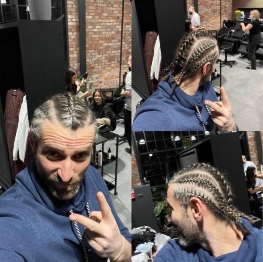maciej dowbor zmienił fryzurę