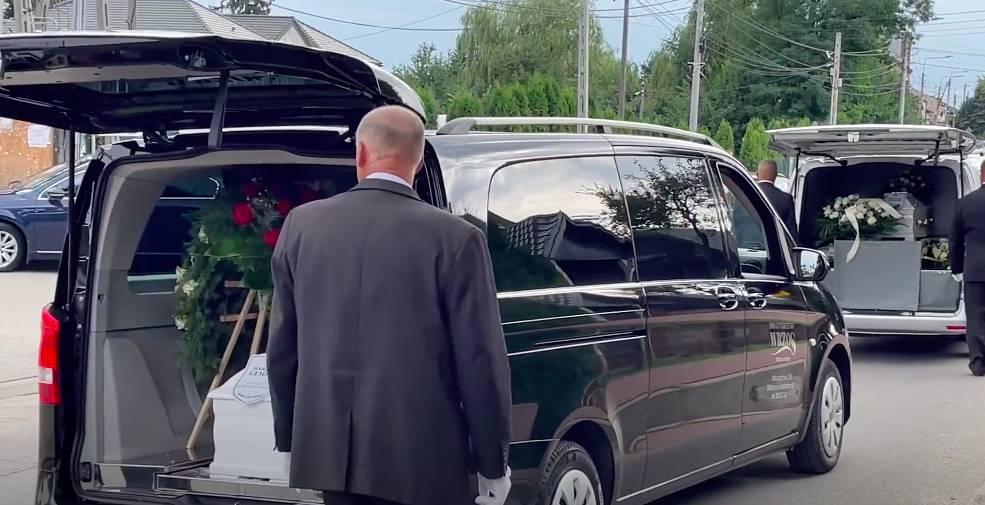 Pogrzeb Marzeny i małej Kornelki