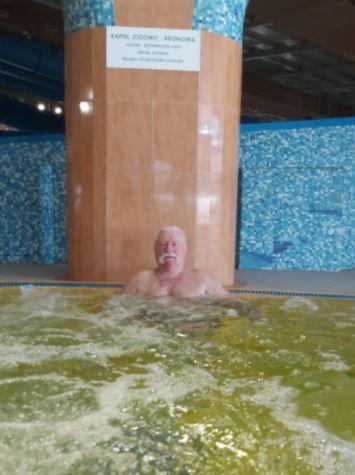 Lech Wałęsa na wakacjach