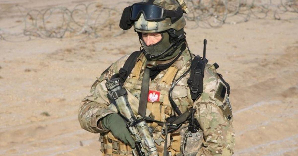 Polscy komandosi w Kabulu