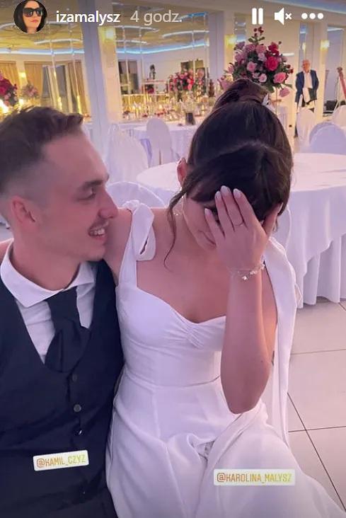 Karolina Małysz wzięła ślub