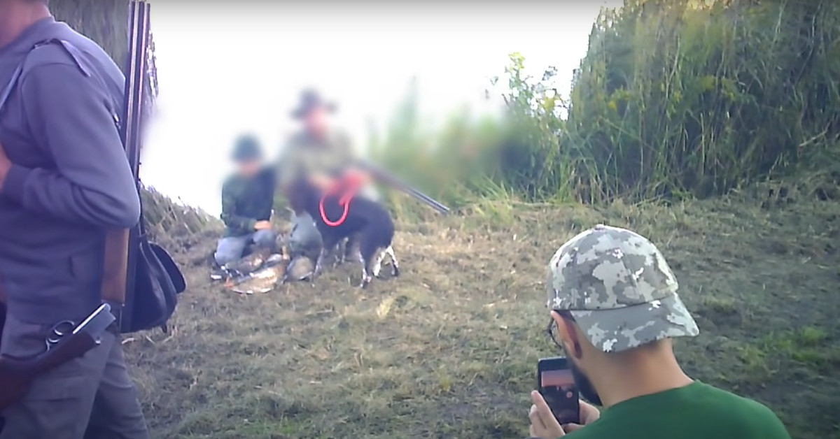kontrowersyjne nagranie z polowania