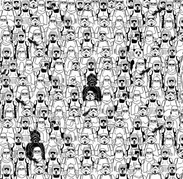 zy uda ci sie znaleźc pandę
