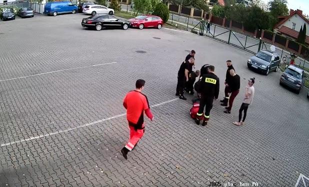 strażacy uratowali życie Stasia